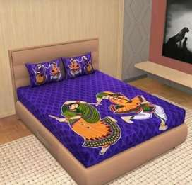 Beautuful microfiber double bedsheets