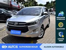 [OLX Autos] Toyota Kijang Innova 2016 2.4 G A/T Diesel Silver #Allison