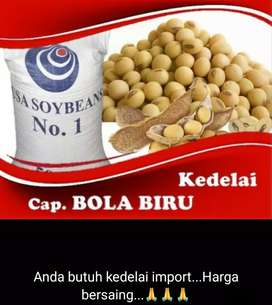 Kedelai import ready