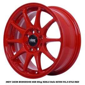 velg HSR racing manado bisa kredit ring 15 buat Honda Jazz,Honda Mobil