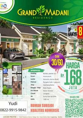 Dijual Rumah Subsidi Kualitas Komersil