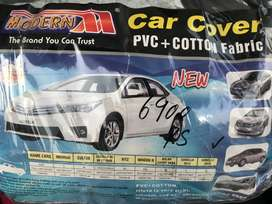 PVC car cover for Honda Civic 2020,  vacuum cleaner and tablet holder