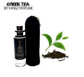 PARFUM GREEN TEA / PARFUM UNISEX / AROMA LEMBUT DAN TAHAN LAMA