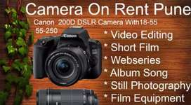Cam for rent 200d or 700d
