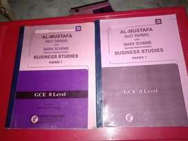 O level Business past papers