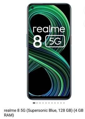 Realme 8 5G  NEW bill box complete