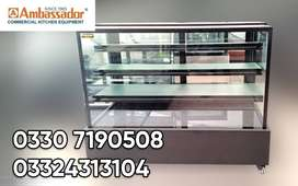 Display simple counter for bakeries