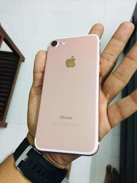 iphone 7 rose gold without any scratch display changed