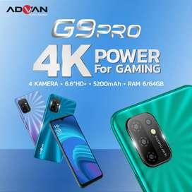PROMO Advan G9 Pro 6/64 BNIB grs resmi 1th cod Bdg kota FreeOngkr
