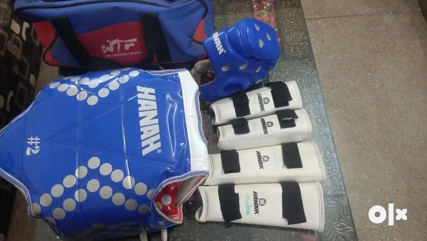 Taekwondo sports supporting junior kit bag