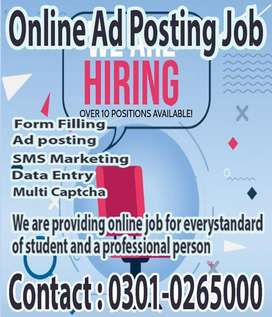 Housewives and students online typing job from home