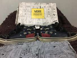 Sepatu vans peanut edition (limited) ori