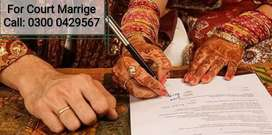 Court Marriage Services.