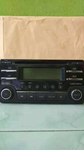 Audio tape singel Din oem Nissan March