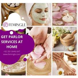 Makeup services at home in Lahore