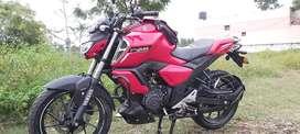 Yamaha FZS V3 new bike km12000, 2020 model. RED colour for best price