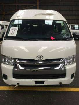 Get your own car Toyota Hiace on easy monthly installent...