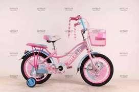 Sepeda Anak Cewek Ukuran 18 BNB Sepeda Anak Perempuan BNB Sepeda Anak