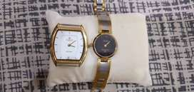 Gold plate watch