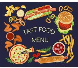 Cook required for Fast food restaurants