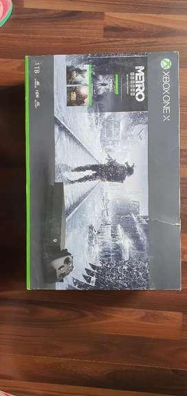 Xbox one x (1TB)
