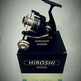 Reel fuguro hiroshi 6000 power handle.