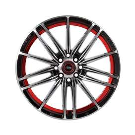 jual velg type Candy Ring-17x75-H8x100-1143-ET40-Black-Mach