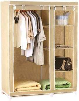 Portable Closet furniture should not be cleaned with water Wood is ver