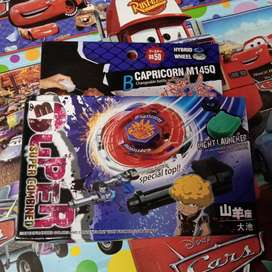 Mainan beyblade anak baru super combined capricon
