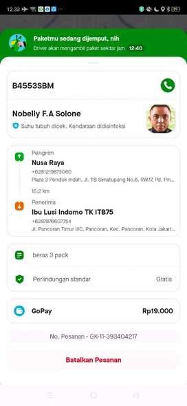 Dicari Sopir B2 area Surabaya