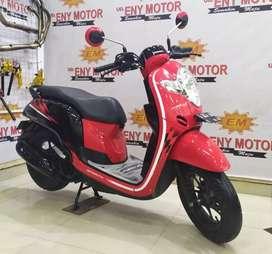 No ragat ! Honda New Scoopy Sporty FI 110 cc th 2018 body mulus