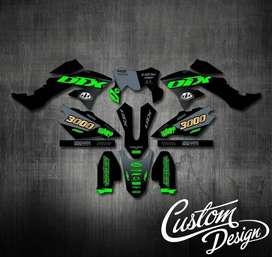 DECAL/STRIPING/STIKER MOTOR FULL BODY BISA COD !!! TERMURAH