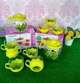 Tea pot bunga ready