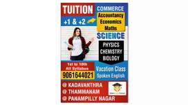 Online tuition-8th to 10th CBSE, ICSE,plus one plus two commerce,kochi