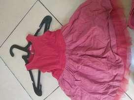 Cuci gudang dress anak usia 2-4 thn..kondisi baru..