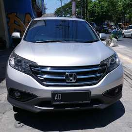 [DP 10JT] Honda CR-V 2.4 Prestige SUV Silver 2013, Bs Kredit