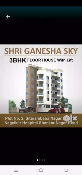 2bhk luxurious flat, Ganpati Nagar, behind hotel lords,