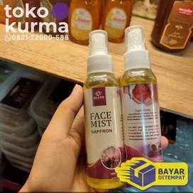 Face mist saffron BPOM menghilangkan jerawat dan mencerahkan kulit