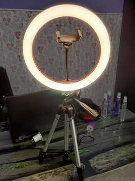 Ringlights 26 cm and Stands available