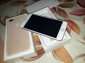 I Phone 7+  Brand New Box Packed In Lowest Rate