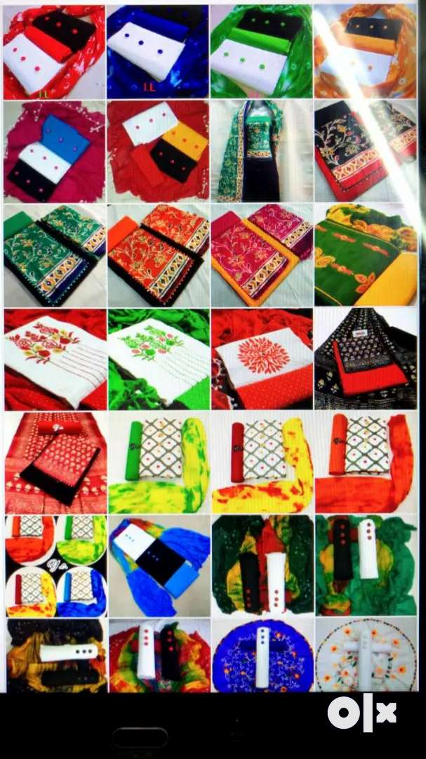 Suits and kurtis and dress material and eyc 0