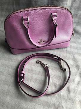 Coach Mini Sierra color Lilac