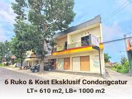 Ruko Condongcatur Dekat UII, UGM