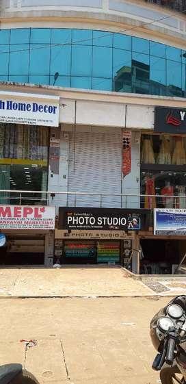 Shop near malabar supermarket facing main road in Gogol with mezannine