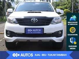 [OLX Autos] Toyota Fortuner VNT 2.5 G TRD Diesel Solar A/T 2013 Putih
