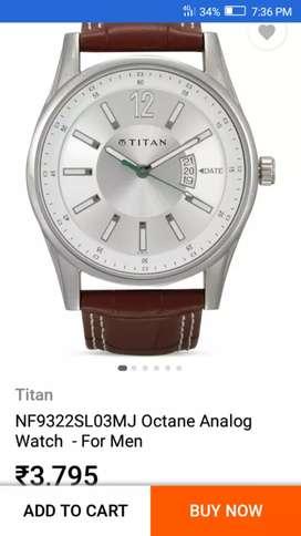 Good condition my Titan watch