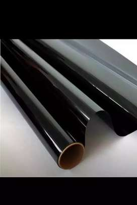 Dhop kam karny k ley glass paper black paper and curtaions whol sale m