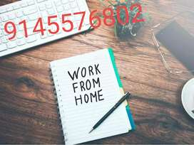 Life time work extra earning... part time job