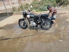 Classic 350cc black ekdam new condition Alloy wheel vi haii