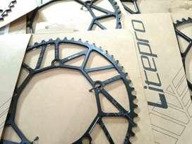 Chainring crank 56T Litepro chain ring seli fixie mini trek